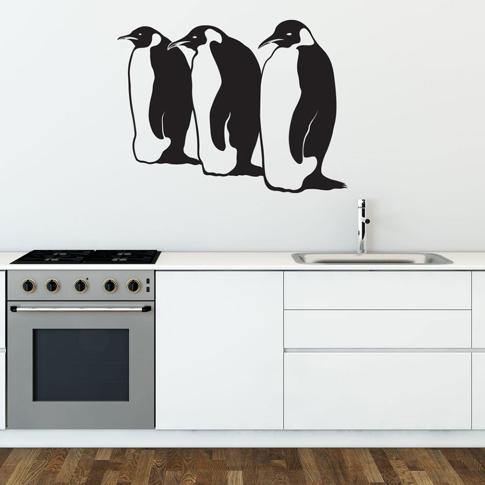 Penguins-Wall Decal
