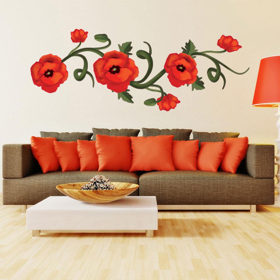 Poppies Wall Decal