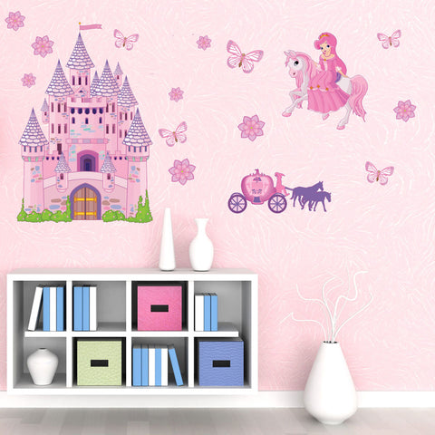 Princess Set Wall Stickers-Wall Decal Stickers-Style and Apply