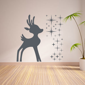Reindeer II-Wall Decal