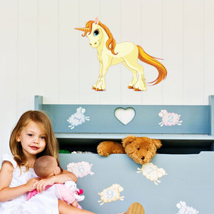 Unicorn-Wall Decal Stickers-Style and Apply
