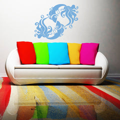 Pisces-Wall Decals-Style and Apply