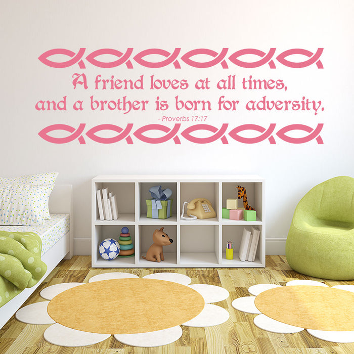 A Friend Wall Decal