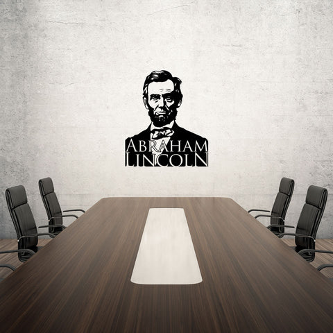 Abraham Lincoln-Wall Decal