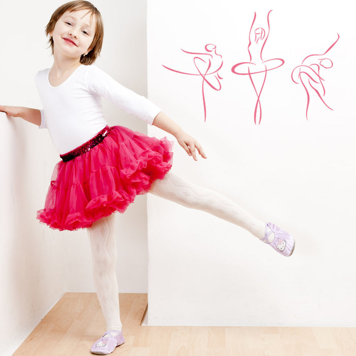 Abstract Ballerinas Wall Decal
