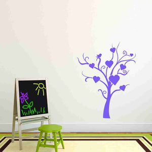 Abstract Love Tree II Wall Decal-Wall Decals-Style and Apply