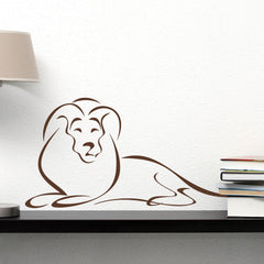 Lion Decal-Wall Decal