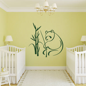 Panda-Wall Decal