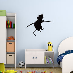 Acrobat Rat Banksy Wall Decal-Wall Decals-Style and Apply