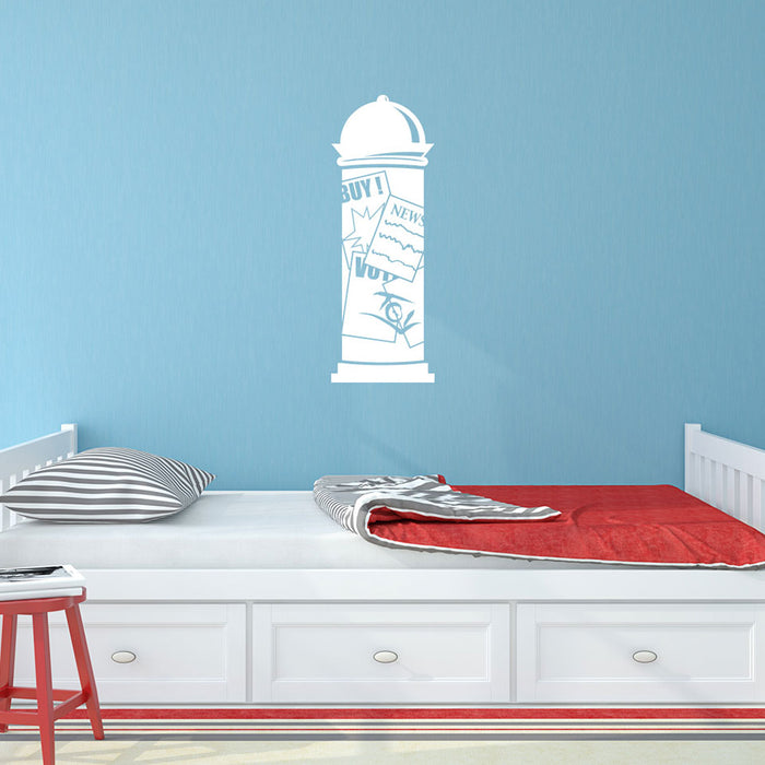 Add Post Wall Decal
