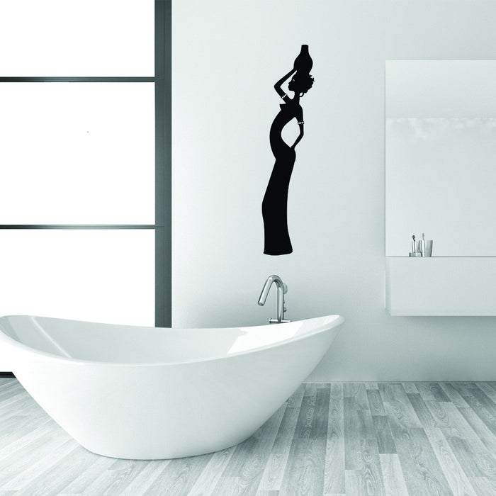 African Woman Wall Decal