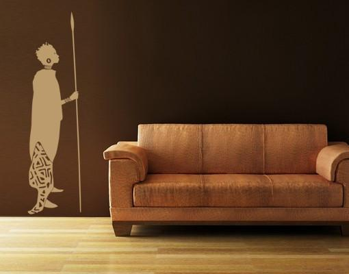 African Woman-Wall Decals-Style and Apply