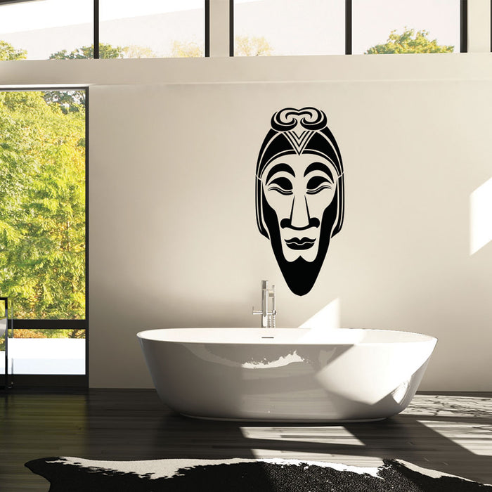 African Mask II Wall Decal