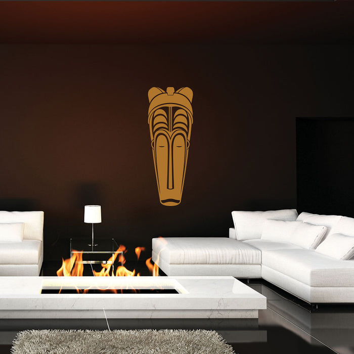 African Mask III Wall Decal