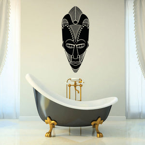 African Mask-Wall Decal