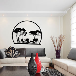 African Panorama-Wall Decal