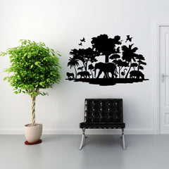 Jungle-Wall Decal