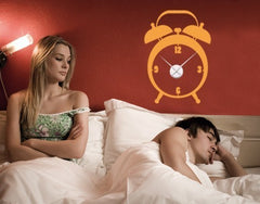 Alarm Clock-Wall Decal Clocks-Style and Apply