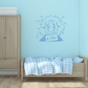 Albert Einstein-Wall Decal