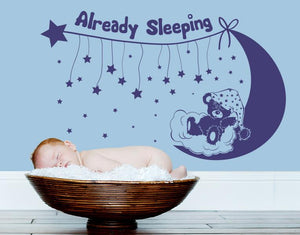 Already Sleeping-Wall Decals-Style and Apply
