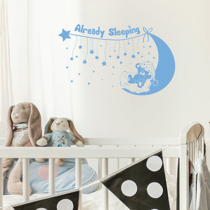 Already Sleeping Wall Decal