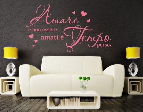 Amare Wall Quote-Wall Decals-Style and Apply