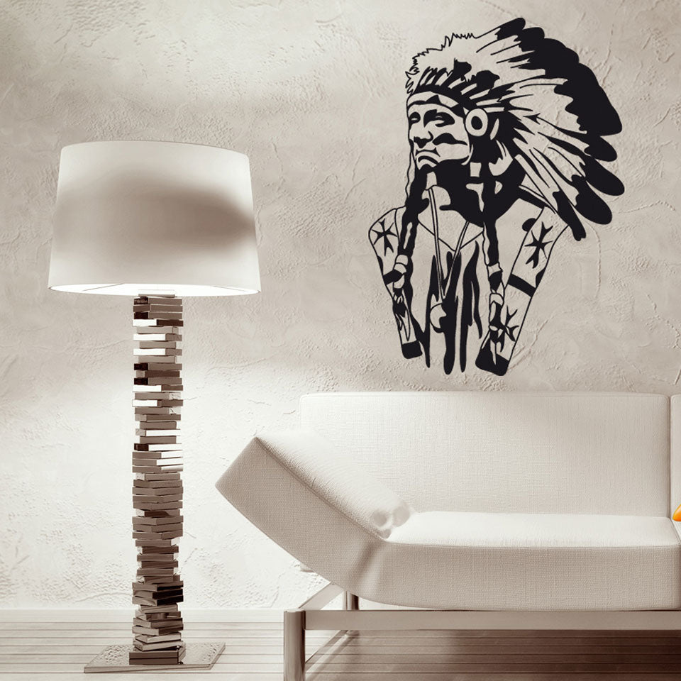 American Indian Decal