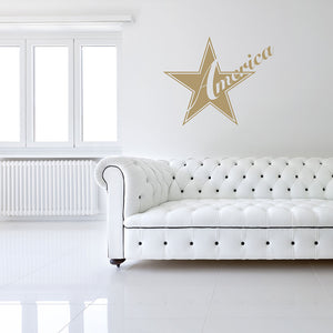 America Wall Decal