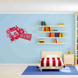 And Action... Wall Decal-Wall Decals-Style and Apply