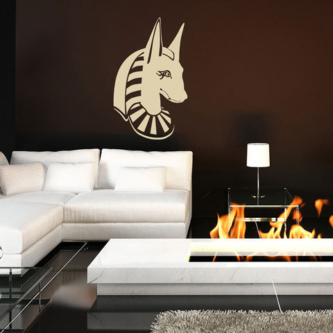 Anubis Head-Wall Decal