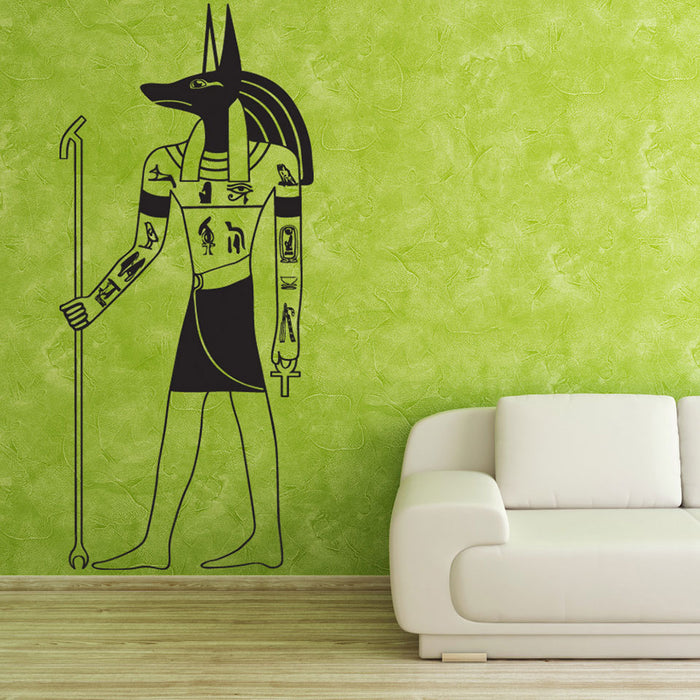 Anubis Wall Decal