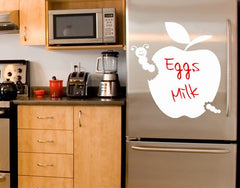 Apple-Blackboard and Whiteboard Wall Decals-Style and Apply