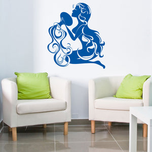 Aquarius-Wall Decal