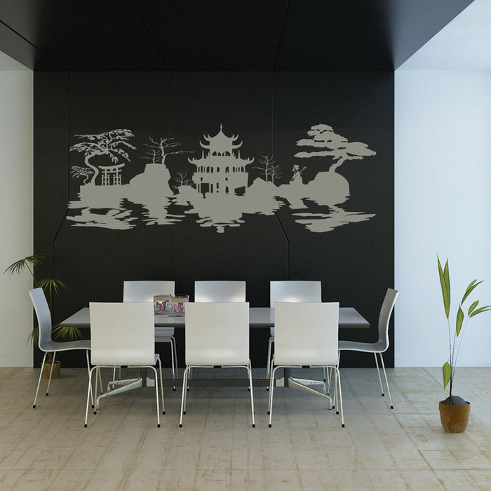 Asian Harmony Wall Decal