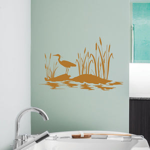 At the Pond-Wall Decal