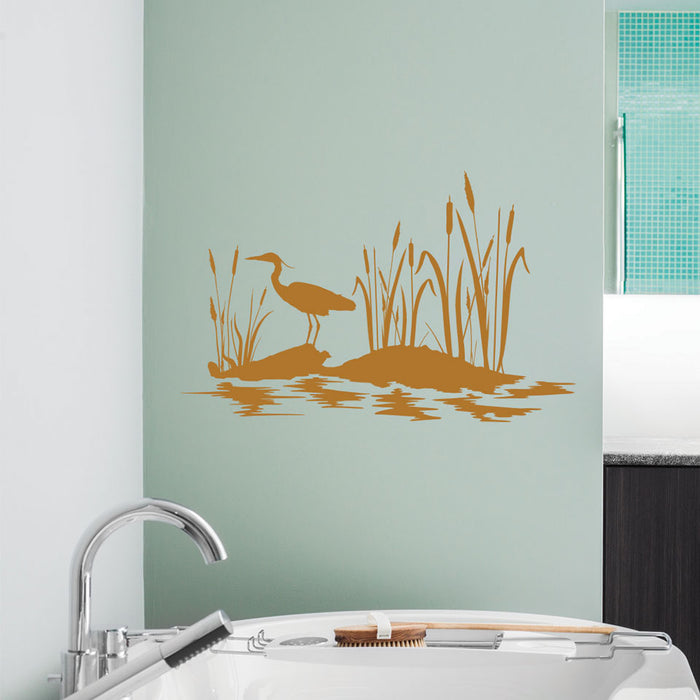 At the Pond Wall Decal