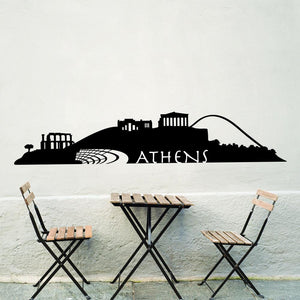 Athens Skyline Decal