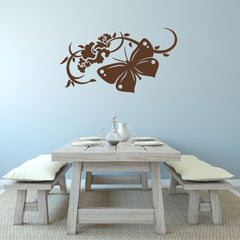 Attraction butterfly Wall Decal