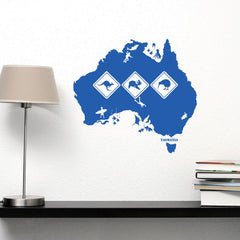 Australia Decal-Wall Decals-Style and Apply