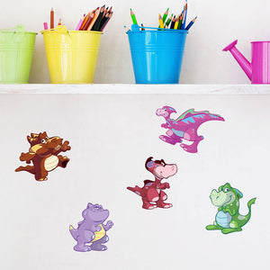 Baby Dino Set-Wall Decal