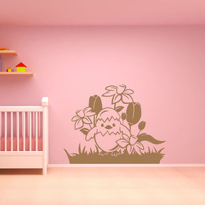 easter egg surprise wall decal