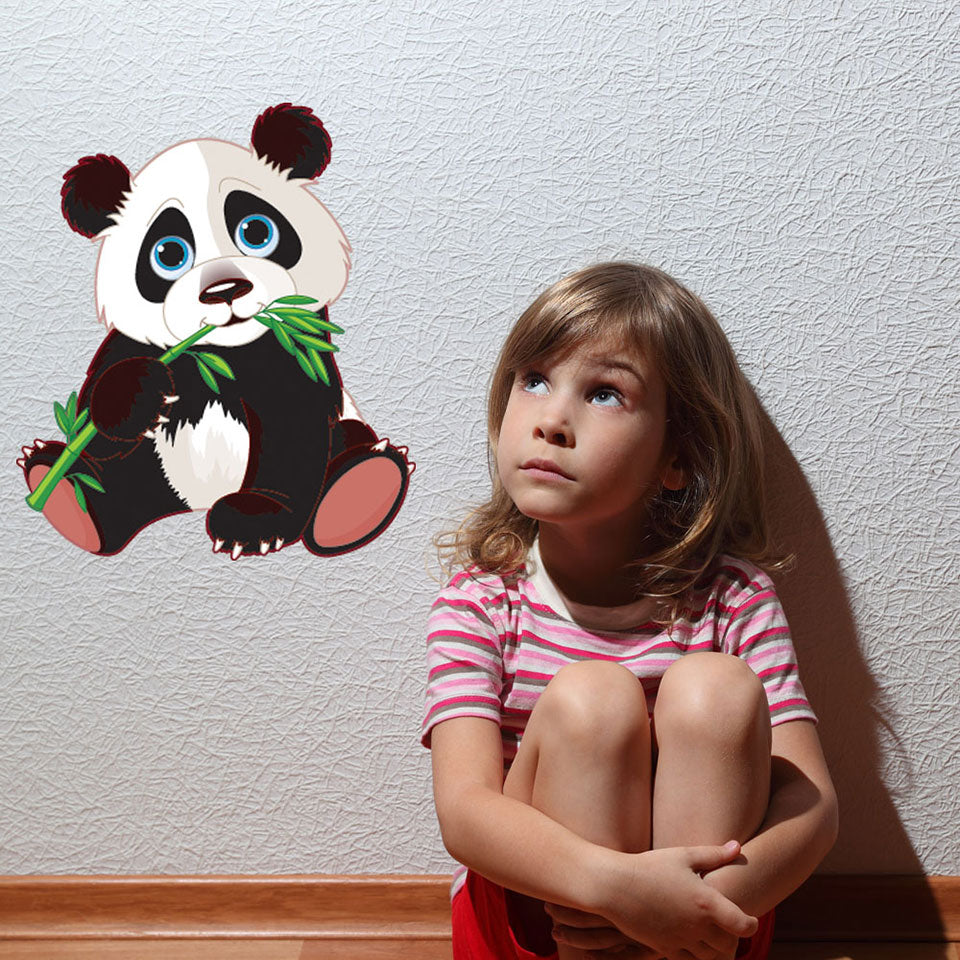 Baby Panda Nursery Wall Decal