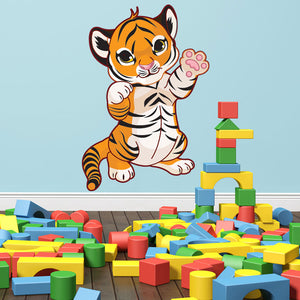 Tiger Baby-Wall Decal Stickers-Style and Apply