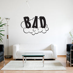 Bad-Wall Decal