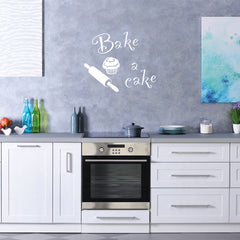 Bake & Cake-Wall Decal