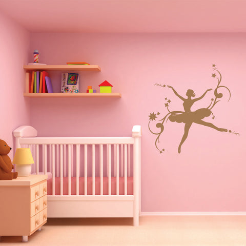 Ballerina II-Wall Decals-Style and Apply