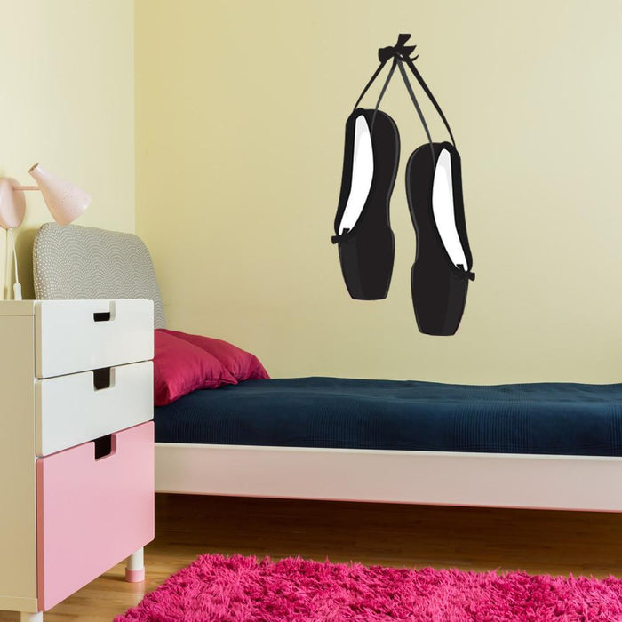 Ballet Shoes Wall Decal Sticker