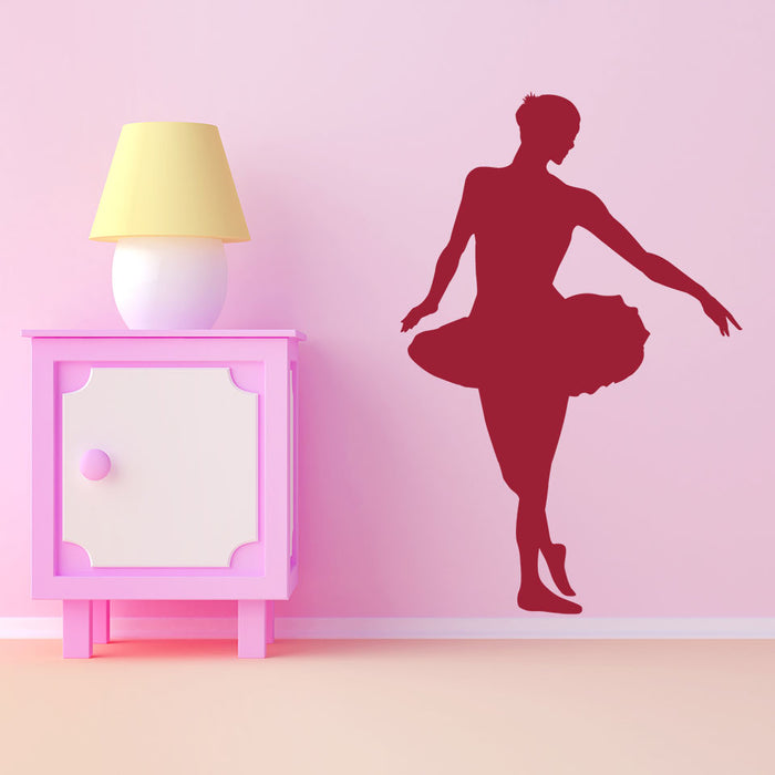 Ballet Dancer Wall Decal