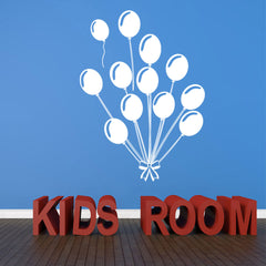 Balloons Decal-Wall Decals-Style and Apply