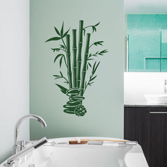 Bamboo Spa Wall Decal